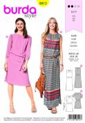 6413  Burda Pattern: Ladies Dress